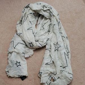 Zara star scarf